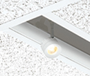 Recessed Track Lay-In (T-Grid) Appearance