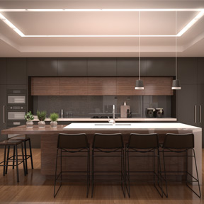 Merge Recessed Linear System Element Lighting