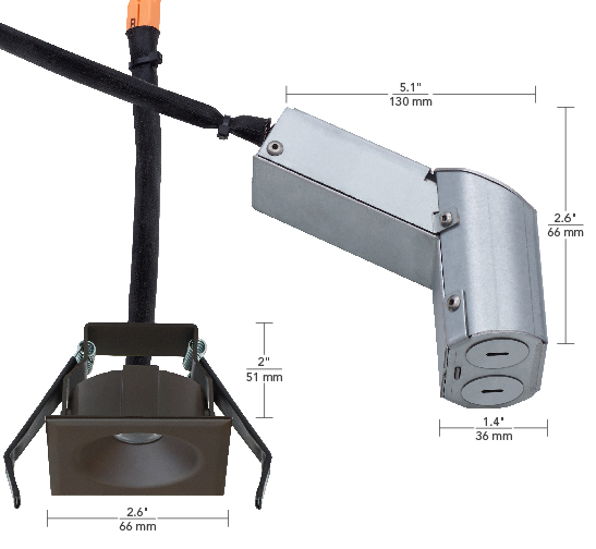 120V Fixed Square
