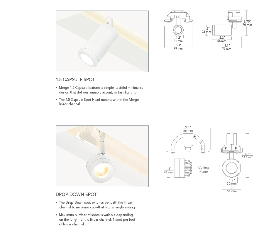 MERGE 1.5 Recessed LED Linear System   ELEMENT Lighting on